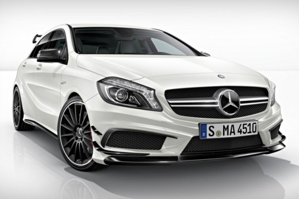 The 2014 Mercedes A45 AMG Edition